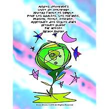 Arbres décoratifs livre de coloriage Niveau facile et simple Pour les adultes, les enfants, Maison, école, retraite, Apprendre des styles d'art prendre plaisir Par artiste Grace Divine