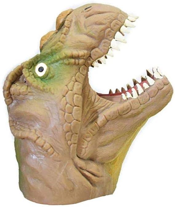 Cabeza De Animal Dinosaurio Amarillo OMMO LEBEINDR Animal Marioneta De Mano Infantil Ni/ños Marioneta De Mano Modelo Grande Regalo De Los Juguetes De Los Ni/ños