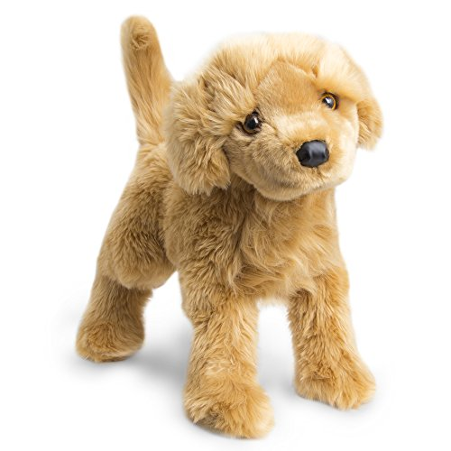 Fao Schwarz Adorable 23  Golden Retriever Plush Dog Toy For Children  Realistic And Fluffy Stuffed Puppy For Toddlers   Preschoolers  Cuddly   Sweet Naptime Companion With Floppy Ears   Snuggly Fur
