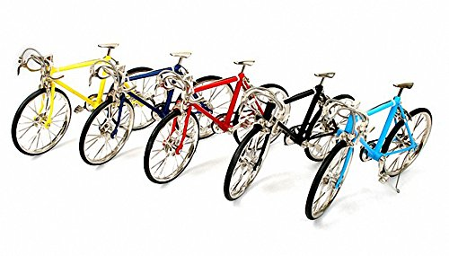 Designever Finger Bike Bicycle Indoor Interior Decoration Accessory Miniature (Red) by Designever (Image #5)