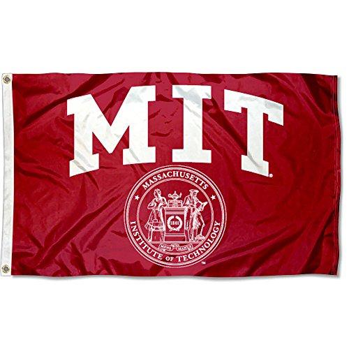 Lightweight Mittens - MIT Engineers Massachusetts University Large College Flag