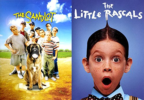 The SANDLOT & The Little Rascals Our Gang DVD Movie Combo Family kids fun set ()