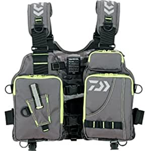 Daiwa floating game fishing vest df 6403 for Fishing vest amazon