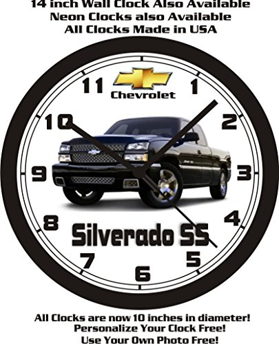2007 CHEVROLET SILVERADO SS PICKUP TRUCK WALL CLOCK-FREE USA SHIP!