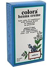 Colora Henna Creme Hair Color Auburn 2oz (3 Pack)