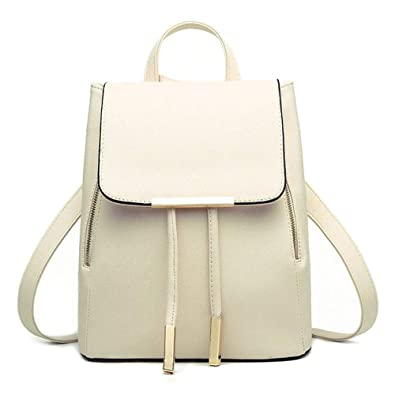 c13a7181b1 OYSOHE Women Leather Backpacks Schoolbags Travel Shoulder Bag Mochila  Feminina Clearance  Amazon.co.uk  Shoes   Bags