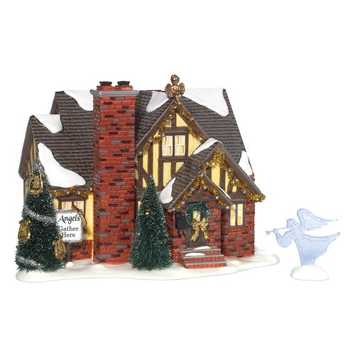 Dept 56 - Snow Village - THE ANGEL HOUSE Limited Edition 2008 by Department 56 - 799937 by Dept 56 - Snow Village