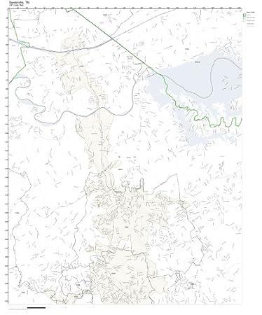Sevierville Zip Code Map.Amazon Com Zip Code Wall Map Of Sevierville Tn Zip Code Map