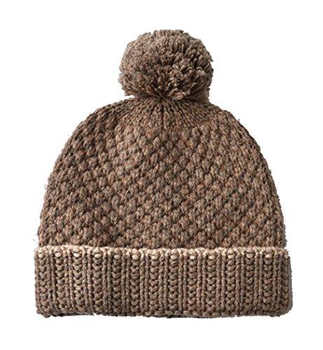 S'Saowalak Fashion Plaid Winter Style Wool Pom Pom Design Knit Warm Adult Hat - Beard For Guys Styles Big