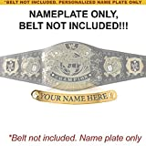 Personalized Nameplate for Adult WWE Undisputed Version 1 Championship Replica Belt
