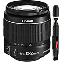 Canon 18-55mm IS STM Lens (WHITE BOX) + Deluxe Lens Cleaning Pen
