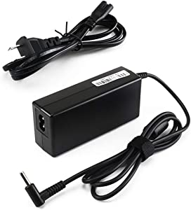 45W 19.5V 2.31A Laptop Charger Power Cord for HP Stream 11 13 14 741727-001 X360 Pavilion Envy EliteBook Series Blue Tip AC Adapter Supply with 10ft Total Cord