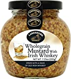 Lakeshore Wholegrain Mustard with Irish Whiskey, 7.2 Ounce