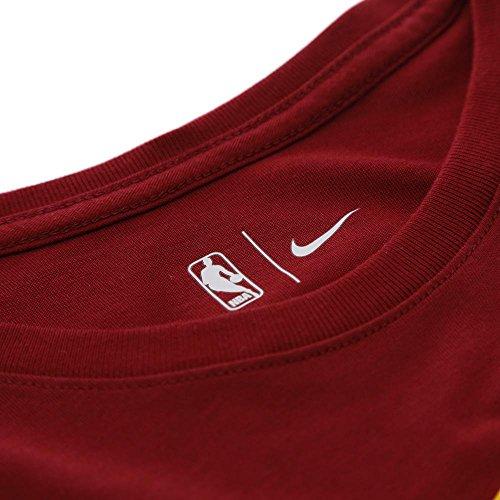 "Nike Performance Herren Basketball T-Shirt ""Cleveland Cavaliers Nike Dry Logo"" dunkelrot (509) L"