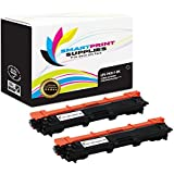 Smart Print Supplies Compatible TN221 TN221BK Black Toner Cartridge Replacement for HL-3140CW 3170CDW, MFC-9130CW 9340CDW, DCP-9020CDW Printers (2,500 Pages) - 2 Pack