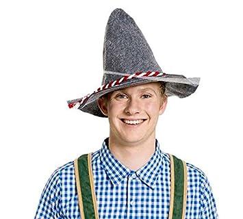rot Seppelhut Filzhut Oktoberfest Fasching Karneval Hut
