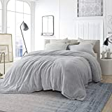 Byourbed Coma Inducer Queen Comforter - Oversized Queen XL - Frosted - Granite Gray