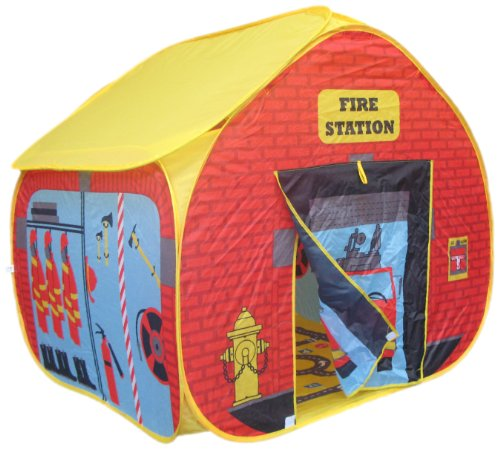 Chad Valley Fire Engine Play Tent With Hat: Amazon.co.uk
