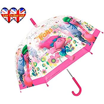 Children, Boys, Girls / Child Transparency Cooper / Poppy Umbrella | Trolls Official