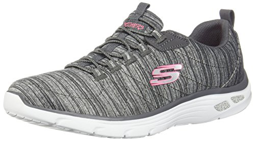 D'lux Skechers grey Gry Grigio Donna Empire Sneaker 55r7x8n