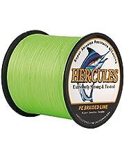 Hercules Super Strong 100m-2000m Gevlochten Vislijn 6lb - 100lb Zoutwater-Zoetwater PE Gevlochten Vislijnen Test 4 Strengen