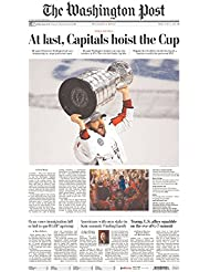 Washington Capitals 2018-Stanley-Cup-Champions- Washington Post 6/8/2018