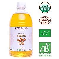 500 ml Aceite de Argán Bio 100% Puro concertificado Ecológico ECOCERTprimera Presión en Fríopara Pelo & Piel – El Argán Original de Marruecos