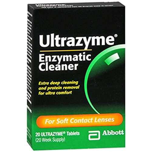 Ultrazyme Enzymatic Cleaner Tablets, 20-Count Box