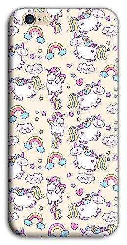 Mixroom - Cover Custodia Case In TPU Silicone Morbida Per Apple Iphone 6 6s PLUS M586 Unicorni Colorati