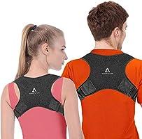 Anoopsyche Corrector de Postura Corrector Espalda Soporte Ajustable para Postura de Espalda Transpirable Corrección...