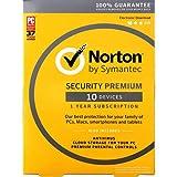 Norton Sec Premium 10-Dvcs 25Gb Bu Ret