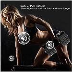 AOLI-Manubri-fitness-regolabili-grandi-campane-mute-bilanciere-manici-in-gomma-forza-peso-ferro-10-kg-15-kg-20-kg-30-kg-body-building-regolabile–palestra-allenamento-allenamento15kg-33lbs