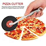 Top Spin Fresh Slice Record Player Pizza Cutter Vinyl Record Design Pizza Wheel Cutter Kitchen Accessories