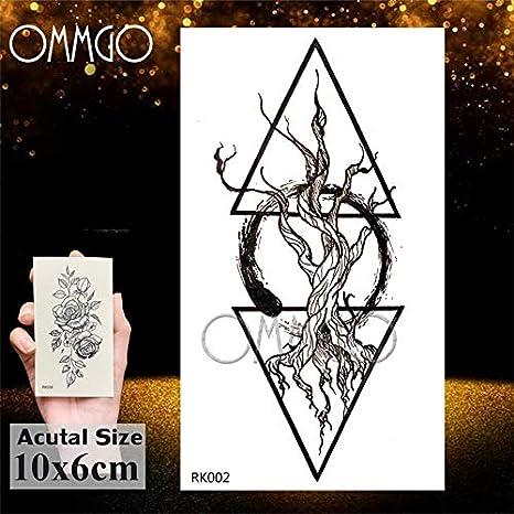 Yyoutop Acuarela Tatuaje Impermeable Medusas e Tatuajes para niños ...