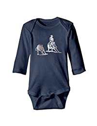 New Born Cutting Horse Viny Platinum Style Romper Bodysuit