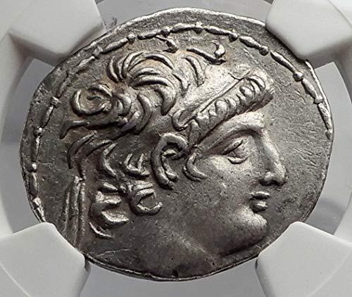 Ancient Greek Silver Tetradrachm Coin - 1000 GR ANTIOCHOS VIII Grypos Seleukid Ancient AR Greek T Tetradrachm Ch XF NGC