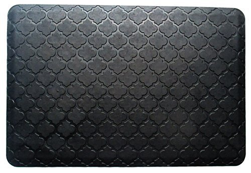 A1 Home Collections A1HCKM01 Doormat Safety Grip,Waterproof,100% Rubber,Luxurious Anti-Fatigue Mat,24''X36''