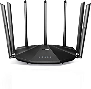 AC6 Tenda AC1200 Dual Band WiFi Router,High Speed Wireless Internet Router with Smart App,MU-MIMO for Home