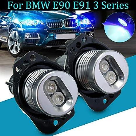Angel Eye Halo Ring LED Light Marker Bulb For BMW E90 E91 3 Series LCI
