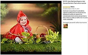 Mantello con Cappuccio 2Pcs BYSTE Abito Bambina Ragazze Abiti Neonato Bambino Plaid Senza Maniche Tutu Pizzo Gonna a Soffietto Gonna di Garza Vestito da Principessa