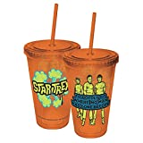 ICUP Star Trek Boldly Go Colored Cup with Straw