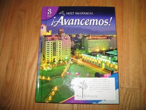 ?Avancemos!: Teacher's Edition Level 3 2010