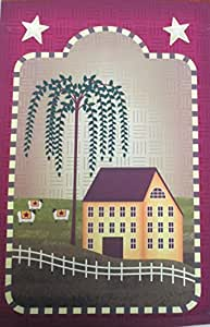 "House Sheep Primitive Fall Garden Flag Autumn Country Houses 12"" X 18"""