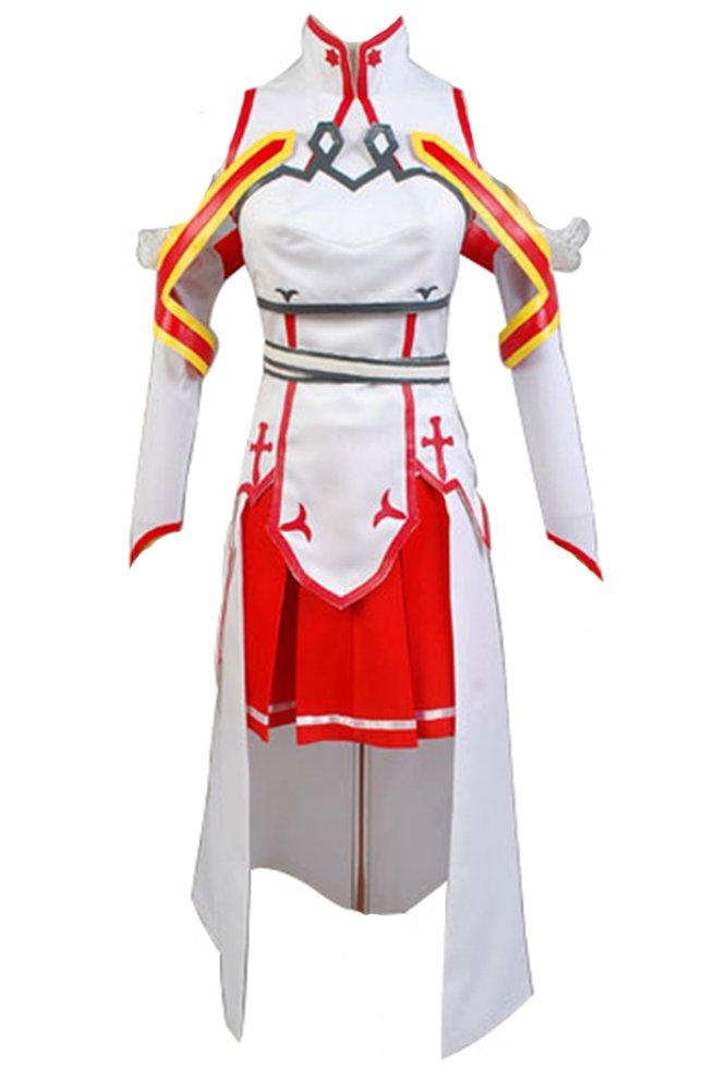 Sword Art - Online - Asuna - Cosplay-Kostüm Gr. Medium, rot   Weißzlig;  Ma schneidert