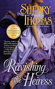 Ravishing the Heiress (The Fitzhugh Trilogy Book 2) by [Thomas, Sherry]