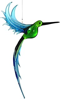 product image for American Made Hanging Glass Figurine Ornament - Exotic Hummingbird