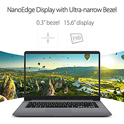 ASUS VivoBook Thin and Lightweight FHD WideView Laptop, 8th Gen Intel Core
