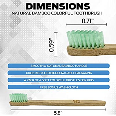 Bamboo Wood Toothbrush