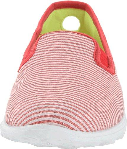 Skechers GO SleekPreppy Go Sleek - Preppy - Zapatillas de lona para mujer Rojo (RDW)