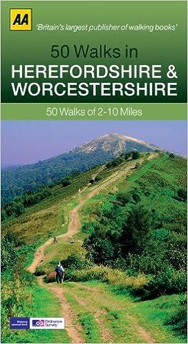 Worcestershire Walking Guidebook (AA)